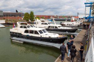Linssen In-Water Boat Show
